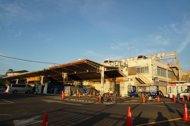府中の大東京総合卸売センターとモペッドリアカー