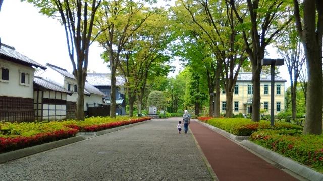 府中郷土の森 メインストリート
