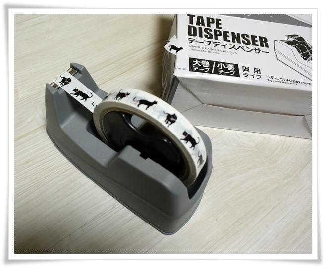 ダイソー セロテープ台 テープカッター