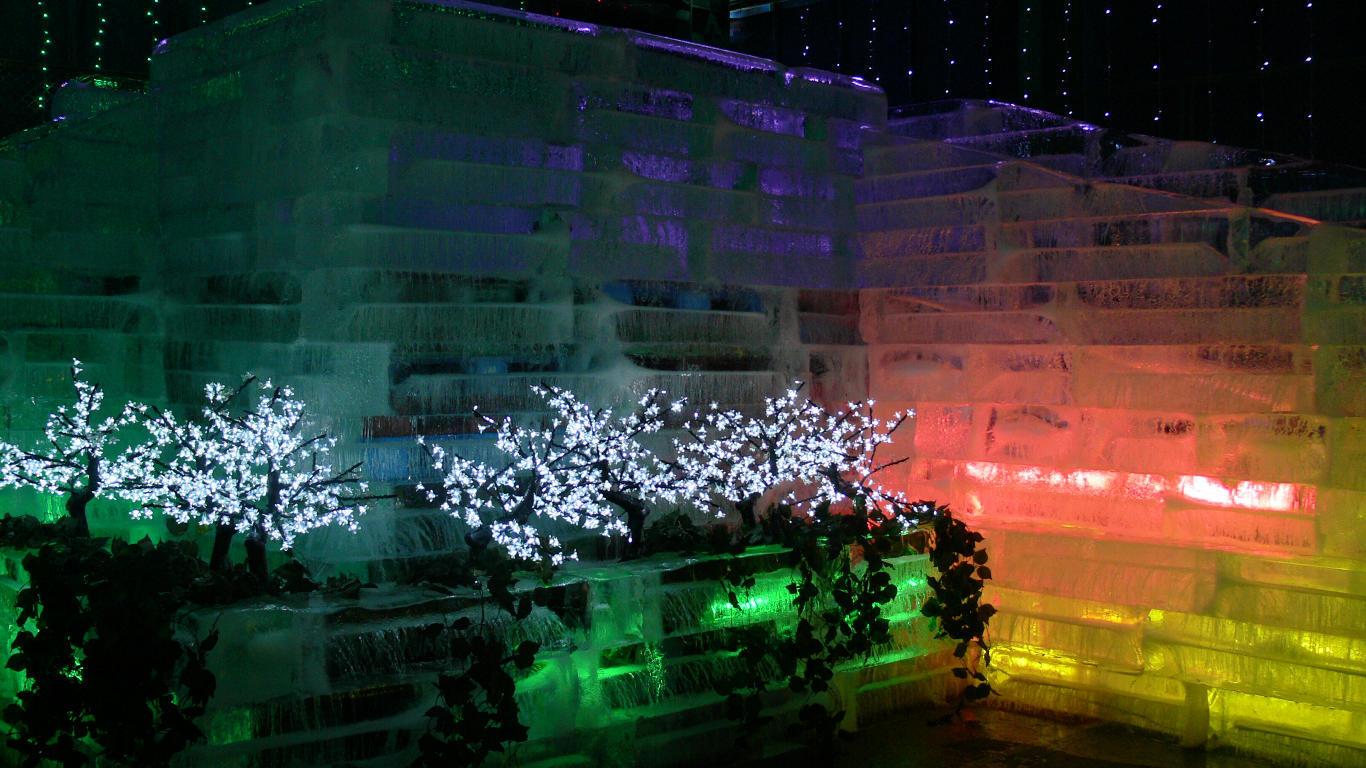 090210白樺湖氷燈祭005