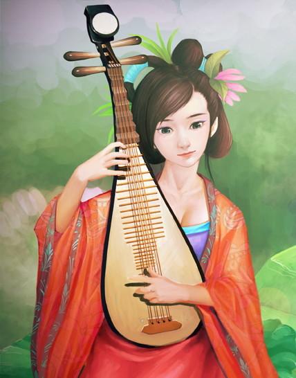 中国琵琶PiPa