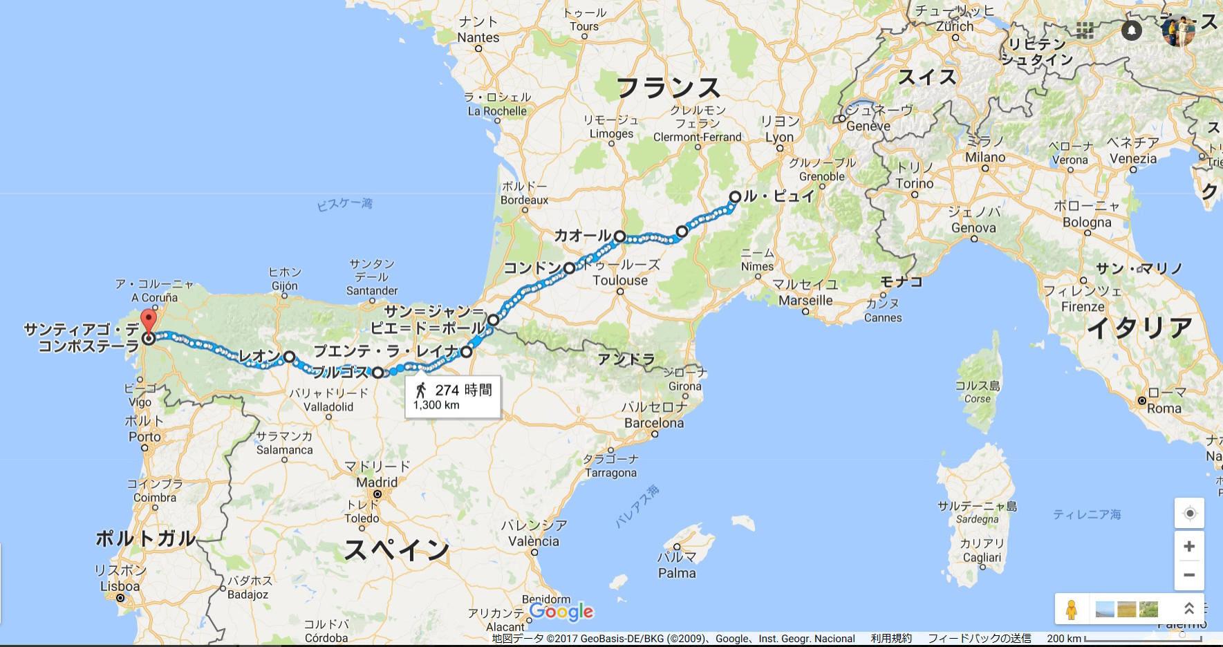 La route du Puy