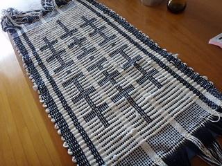 リップス織りのバッグ地表
