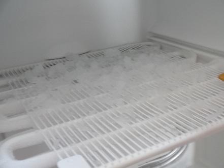 冷凍庫 霜取り