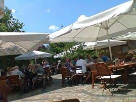 アスパラガス直売所+レストラン in ドイツ
