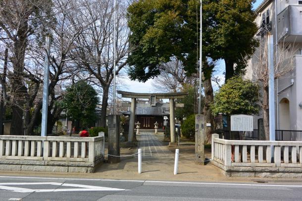 上戸田氷川神社①