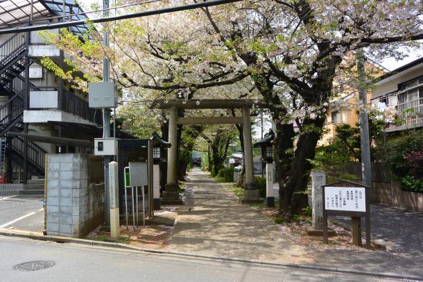 田端神社①