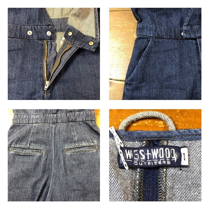 2017-03-13 デニムサロペット westwood outfitters ウエストウッドアウトフィッターズ (7)-tile