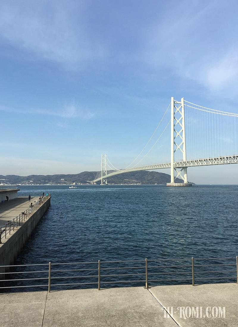 明石海峡大橋 神戸 淡路 鳴門自動車道 ツーリング ドライブ