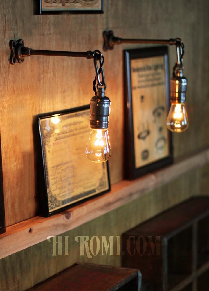 工業系照明 チェーン リング インダストリアル Industrial lamp light ライト 照明 壁面