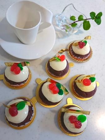 ショコラのドームケーキ