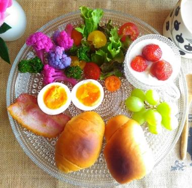 colorful cauliflower salad