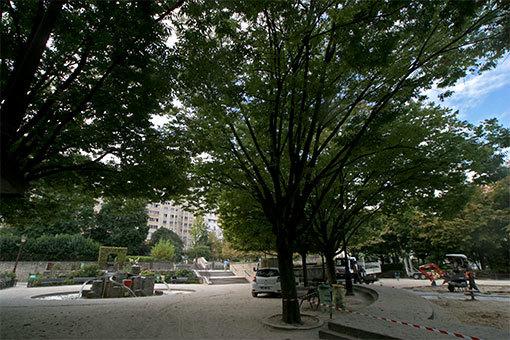 パリの公園