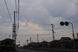 曇天日の出2