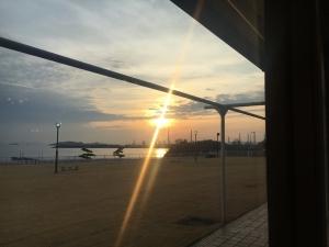 児島の夕日88