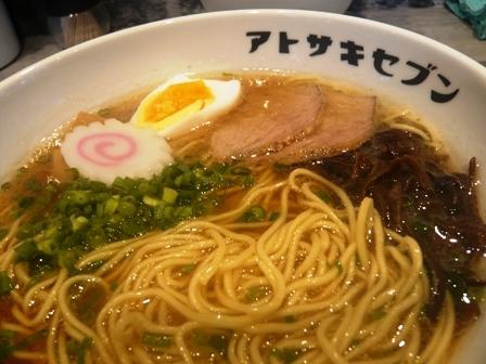 アトサキラーメン:醤油ラーメン