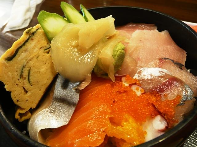 魚清:海鮮丼2