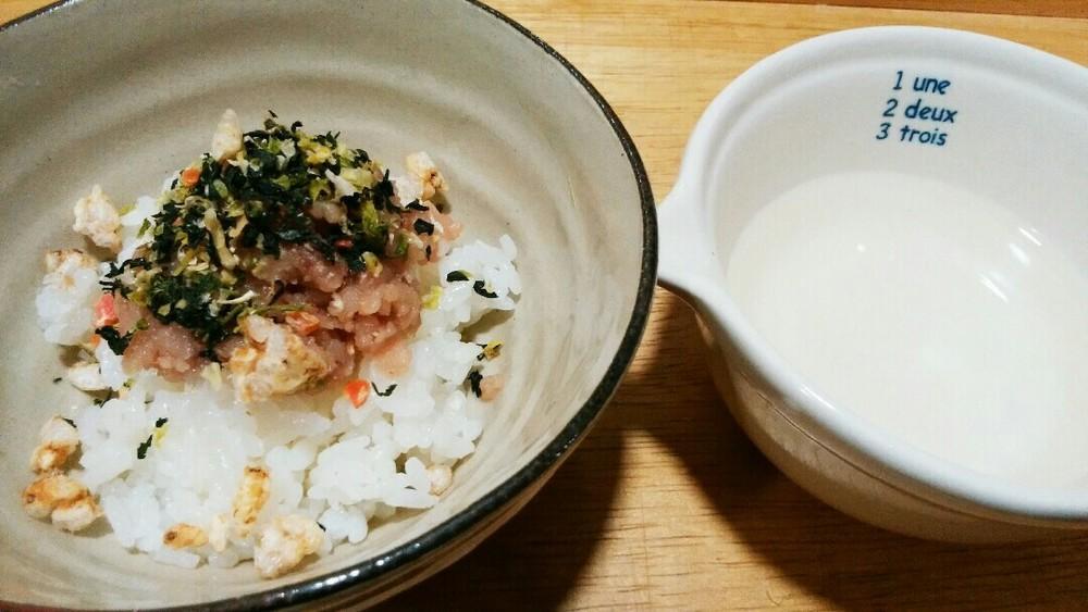 ブリトロ茶漬けの作り方5