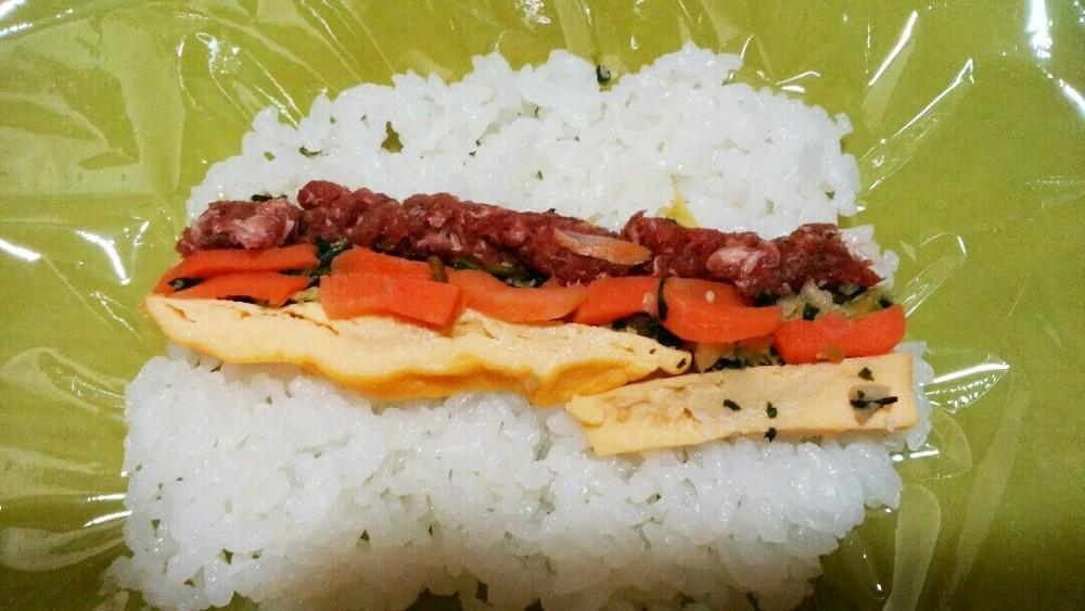 海苔なし巻き寿司の作り方6
