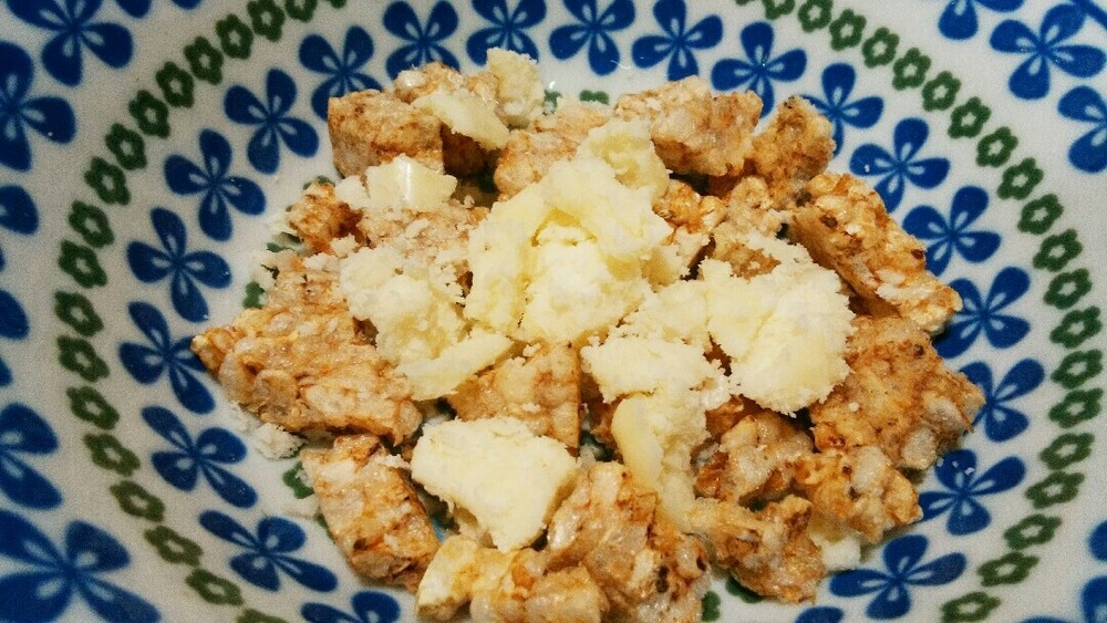 枝豆とチーズのリゾットの作り方2