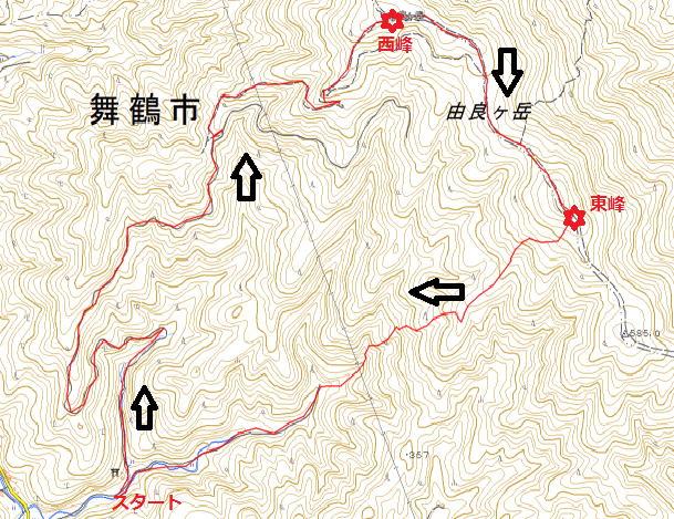由良ケ岳(1)