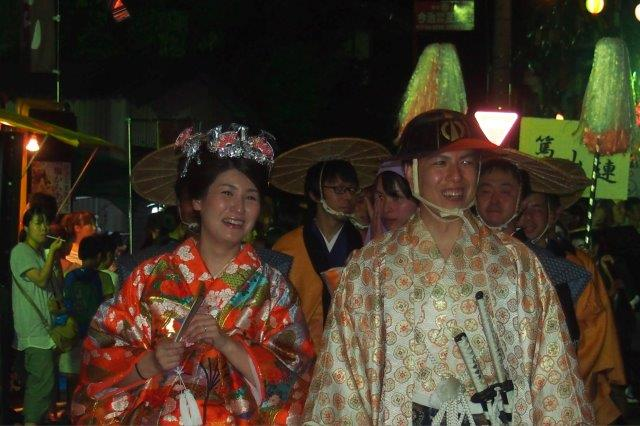 夏祭り 小松町ふるさと祭り 大名行列