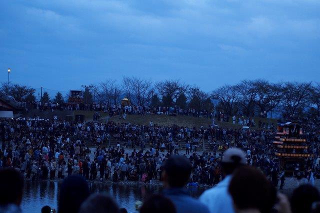 西条祭り 伊曽乃神社祭礼 川入り