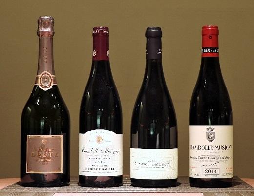 2017年2月ワイン会_本日のワイン