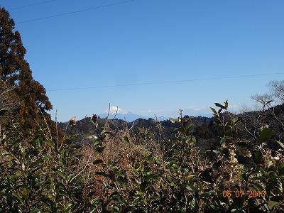 富士見峠からの富士山
