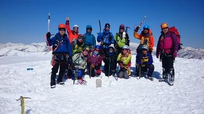 大日岳積雪期訓練001