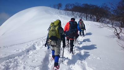 大日岳積雪期訓練002