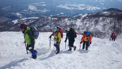 大日岳積雪期訓練003