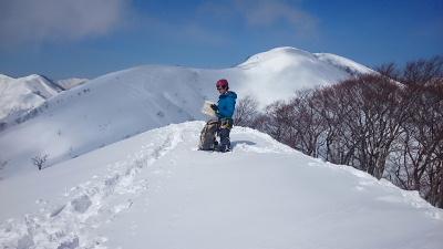 大日岳積雪期訓練004