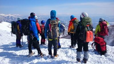 大日岳積雪期訓練005