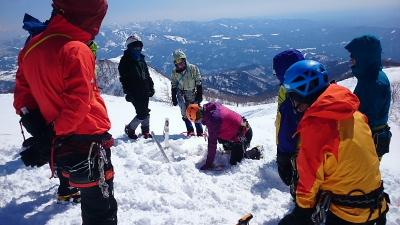 大日岳積雪期訓練006