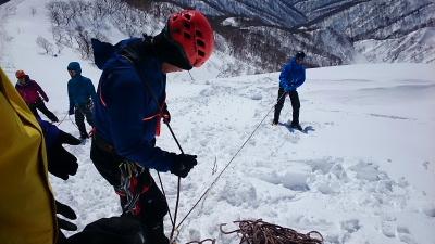 大日岳積雪期訓練007