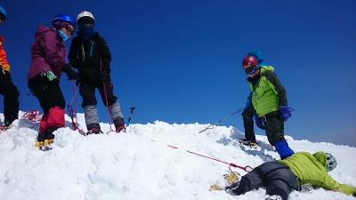 大日岳積雪期訓練008