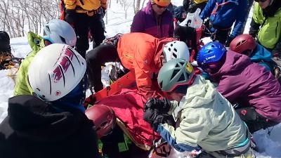大日岳積雪期訓練011