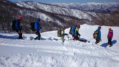 大日岳積雪期訓練013