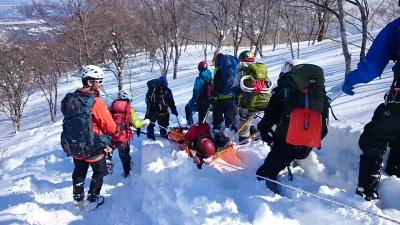 大日岳積雪期訓練014