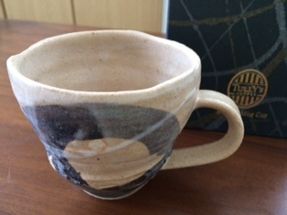 笠間焼マグカップ1