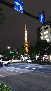 20161110東京タワー(その1)