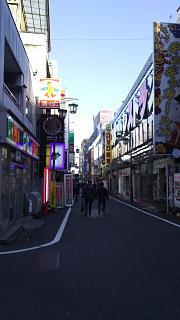 20161218歌舞伎町→高田馬場(その1)