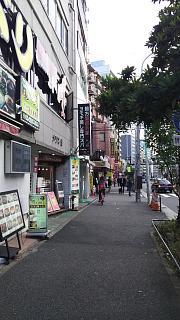20161218歌舞伎町→高田馬場(その2)