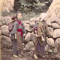子守日下部金兵衛wikimedia