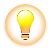 アイデア電球アイコン