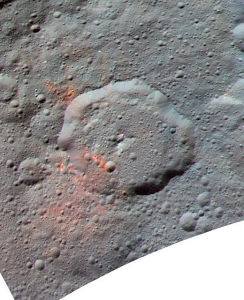 Organic matter on the surface of Ceres