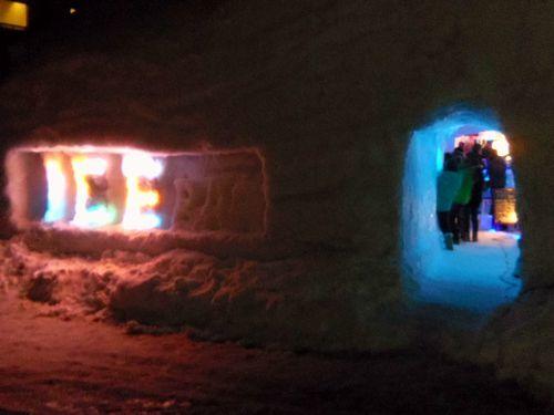 月山志津温泉雪旅籠の灯り21