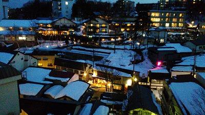 10草津温泉夜景
