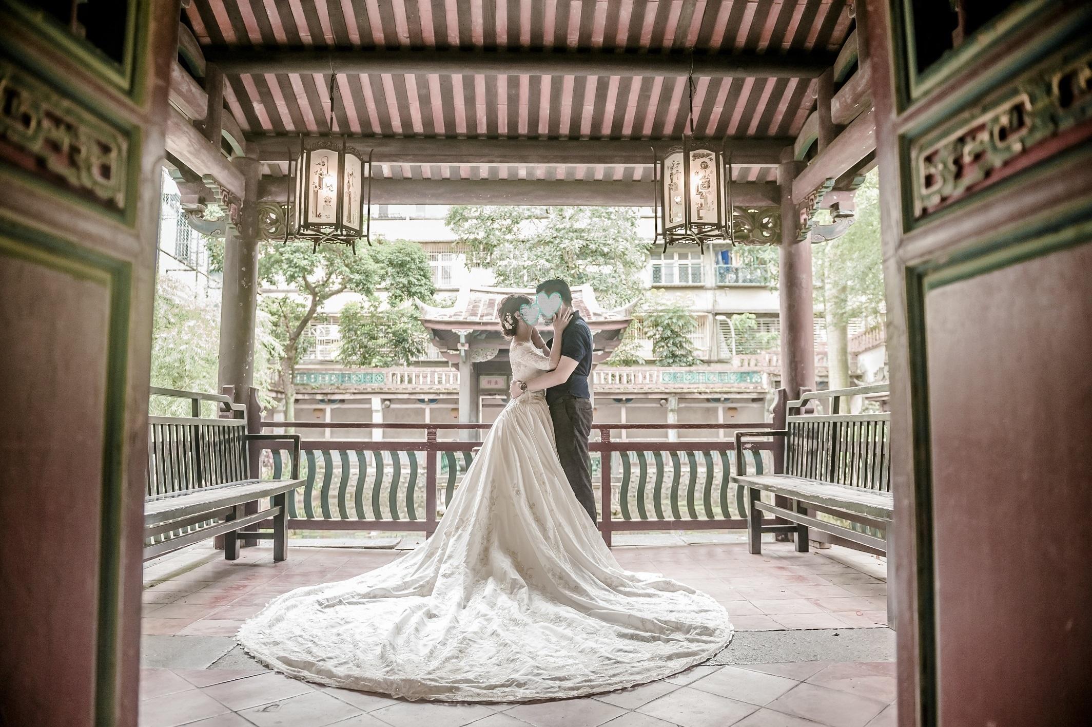 台湾 ウエディングフォト結婚前撮り体験談 その1 お店選び 契約編 さぽぽの台湾人生